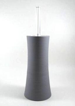 Toilet Brush Holder Plastic SENSEA Gom Grey