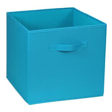 Polyester basket blue 31X31X31cm