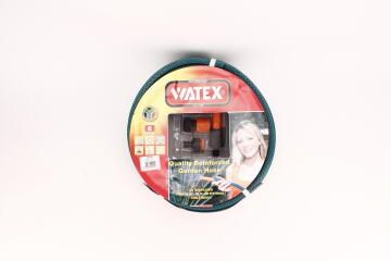 Hose, Garden Hose With Fittings, WATEX, 12mmx20m, 6 Years Guarantee