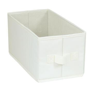 Polyester basket cream 15X31X15cm