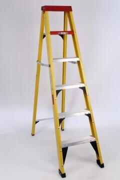 Ladder superlite fibreglass gravity 6 step