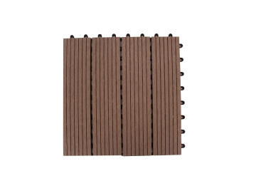 DECKING TILE OYSTER 300 MM X 300 MM BOX 0F 11