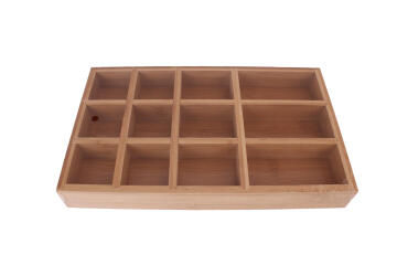 12-Section Bamboo Tray 29X17.5X3.8