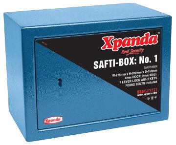 Safti-box blue no1 xpanda