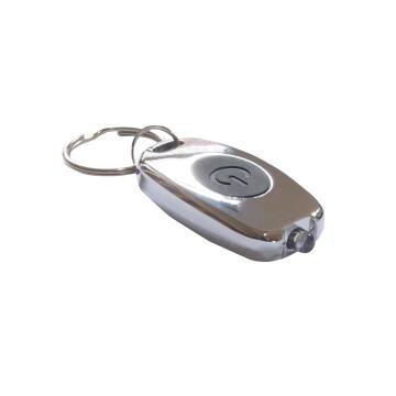 Flashlight metal keyholder