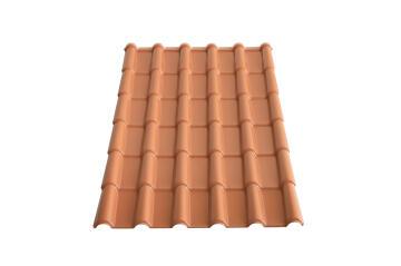 PVC Roof Sheet 1.8m Terra Cotta LA ROMANA