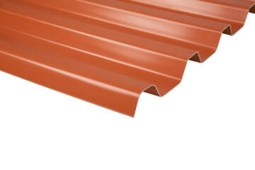 PVC Roof Sheet 3m Terra Cotta GRECOLINA
