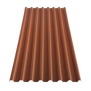 PVC Roof Sheet 2m Terra Cotta GRECOLINA