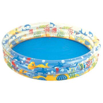 Swimming Pool 152 cm X 30 cm Deep Dive 3-Ring Pool-317 l