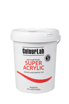 Multi-surface matt Paint COLOURLAB super acrylic cloudy grey 20 liters