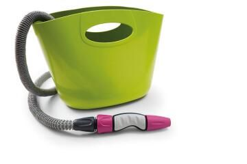 Aquapop Extendable Hose 15M Green