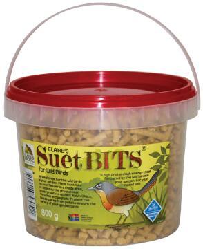 Bird Suet, Suet Bits, Elaines Birding, 800g