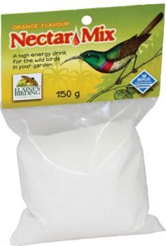 Bird Nectar, Orange Nectar, ELAINES BIRDING, 150g