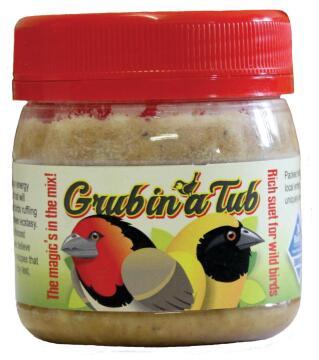 Bird Food, Grub In A Tub, ELAINES BIRDING