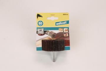 Rotary flap wheel sander, grit 60 WOLFCRAFT