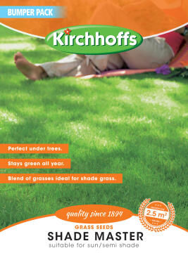 Lawn Seed, Shade Master, KIRCHOFFS, 100g Bumper Pack