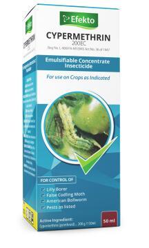 Cypermethrin, Insect Control, EFEKTO, 50ml