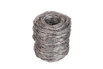 Barbed wire iowa 2.5mmx25kgx270m african gate