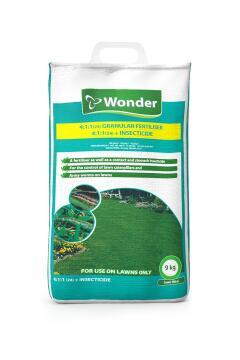 Fertiliser, 4:1:1+ Insecticide, WONDER, 9kg