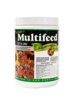 Fertiliser, Flower Grow, MULTIFEED, 500g