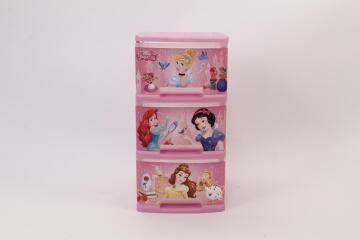 3 Drawer Storage Unit Disney Princess