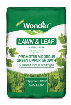 Fertiliser, Lawn & Leaf 7:1:3, WONDER, 2kg