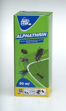 Alphathrin, Insect Control, PROTEK, 50ml