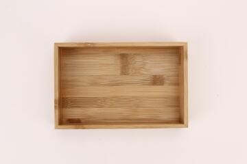 Storage Tray Bamboo SENSEA 15x23x5.5cm carbonized fnish