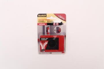 Dual lock high tech fasteners extreme black 2 strips scotch