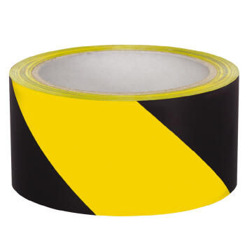Black and Yellow Barrier Tape / Safety Tape 100m