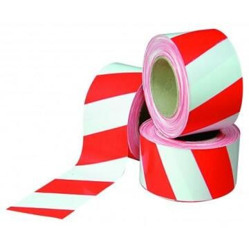 Red and White Barrier Tape / Safety Tape 500m