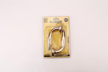 HANDLE LEVER SOFT ON/ROSE 400/45 BRASS