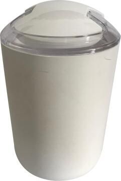 Dustbin abs white