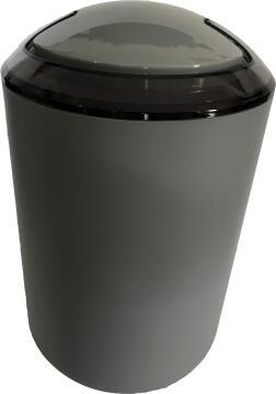 Dustbin abs grey