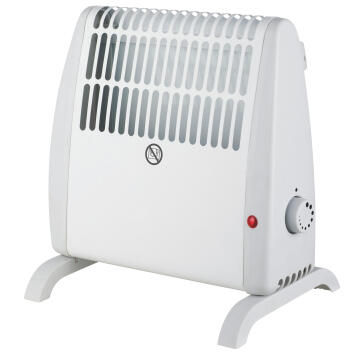 Convect Heater 500W Wht & Grey