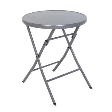Tablel Emys Steel Dark Grey Diameter 60 cm NATERIAL
