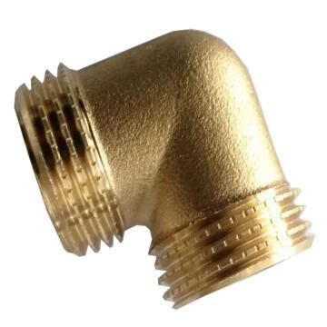 SCREWED CONNECTOR BRASS ELBOW EQ MM 1/2