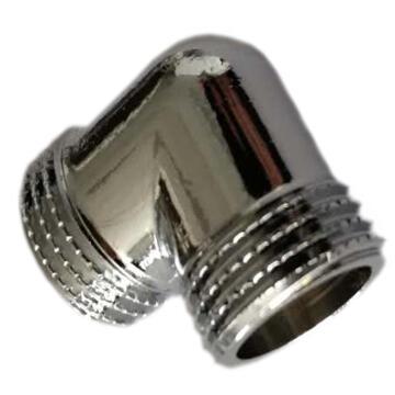 SCREWED CONNECTOR BRASS ELBOW EQ MM3/4