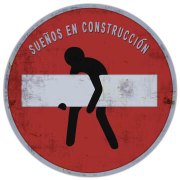 WALL PLAQUE ROUND SIGN 30X30X2CM