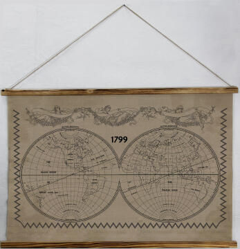 WALL PLAQUE MAP USA 100X1.2X73M