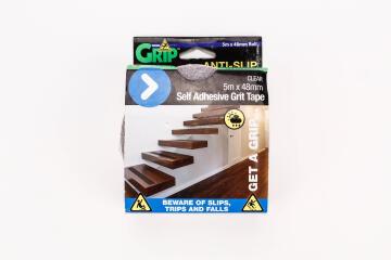 Anti-slip self adhesive grid tape clear 5mx48mm perma