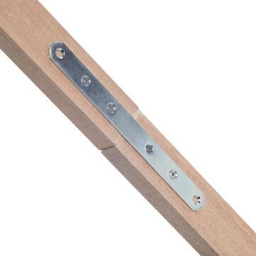 PLATE ROUND L156XW15XT2MM STEEL ZINC