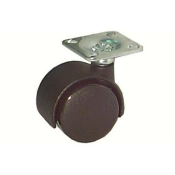 SWIVEL CASTER BLACK D35MM