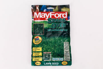 Lawn Seed, Shade-Over, MAYFORD, 100g Top Up Pack