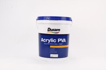 Colour rich wall paint DURAM Matt Acrylic Rale Cream 20L