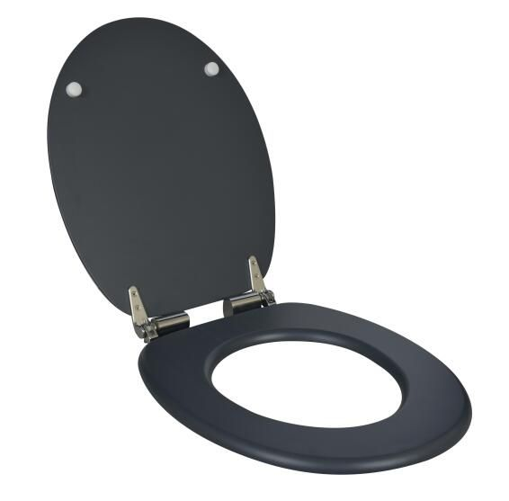 Toilet Seat With Soft Close N 1 Sensea Blanka Grey Leroy Merlin South Africa