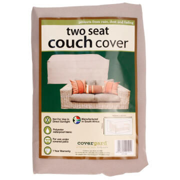 Cover Value Two Seater Couch Poly Bge