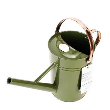 Watering Can 4.5L Metal - Green