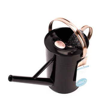 Watering Can 4.5L Metal - Black