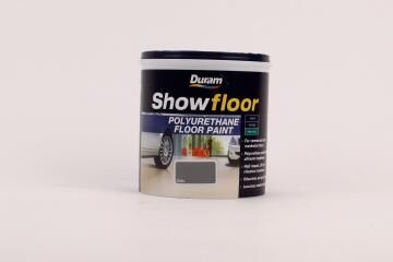 Floor paint for cement floors DURAM Showfloor Slate 1L